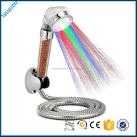 Mineral stone romantic light shower head