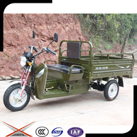 Cheap Cargo Adult Tricycle, Gasoline 3-wheel Motorcycle Cargo Made in China
