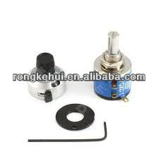 WDD32 Z-3A 10K shaft slide linear Hollow shaft Potentiometers variable resistor