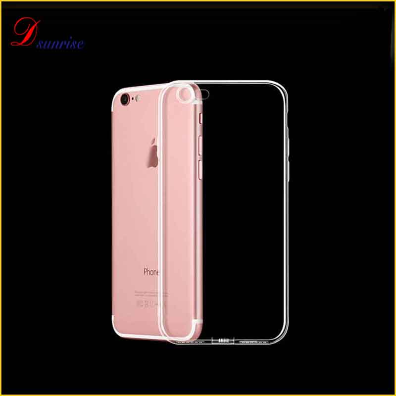 2017 High quality waterproof tpu back cover case for <strong>apple</strong> 7