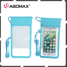 Custom made portable swimming waterproof phone case