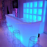 Bar furniture bar counters/ Home bar counter design/Bar counter led light