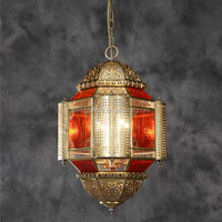2015 Bright COLOR glass pendant light hanging brass lamp