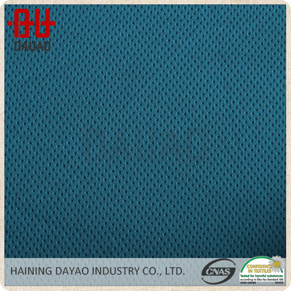 100% Polyester small hole tricot speaker mesh fabric