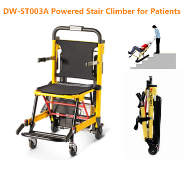 Aluminum alloy electric connecting stair climbing wheelchair