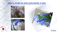 Arita Porcelain japanese traditional crafts of Somenishiki Ryokusai Fujimon