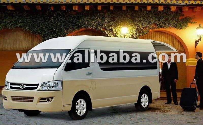 2014 New Model Commercial Van 5.38 Meters 13 seats Contact hansonshi@yeah.net