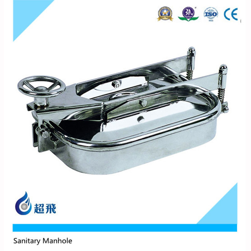 Ss304 Ss316 Round Square Stainless Steel Manhole Cover Frame Sanitary Cast Iron Food Grade For Sale