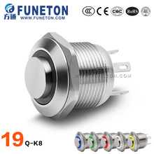 Factory supply mini led light push button on/off power switch