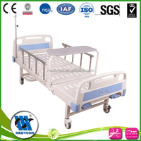 ABS headboard with diner table and hospital double-crank bed