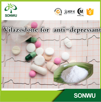 Supply fresh 99% Vilazodone for anti-depressant pharmaceutical wtih cas.163521-12-8