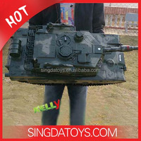 Wholesale 83cm Large Military Armored Models 7 Channel RC Tank 1/10
