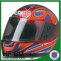 HF-825 full face superman motorcycle helmet