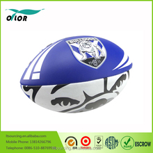 Cheap Promotional children toys machine-sewn school rugby balls