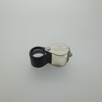 Hot Sale 14x triplet magnifier lens repair