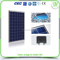 China factory price low price flexible solar panel module 100w