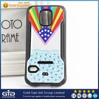 New Design 2 In 1 TPU Back Cover for Samsung S5 Mini Colorful TPU Case for Galaxy S5 Mini