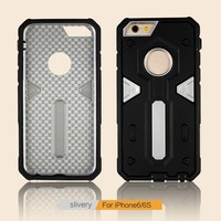 Factory Price Slim Hybrid Armor Back Cover Phone Case For iPhone 6 6s