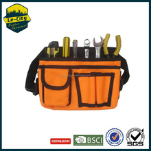 New design 1680D orange multi-function backpack waterproof waist tool bag