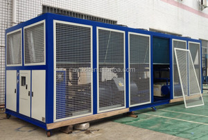350Kw Industrial Air-cooled Screw Chiller