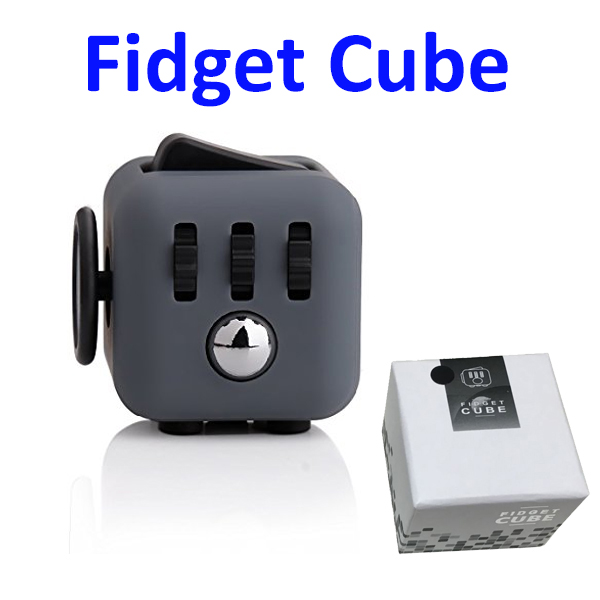 6-Sided Desk Fidget Toy Anti Stress Cube for Adults and Children
