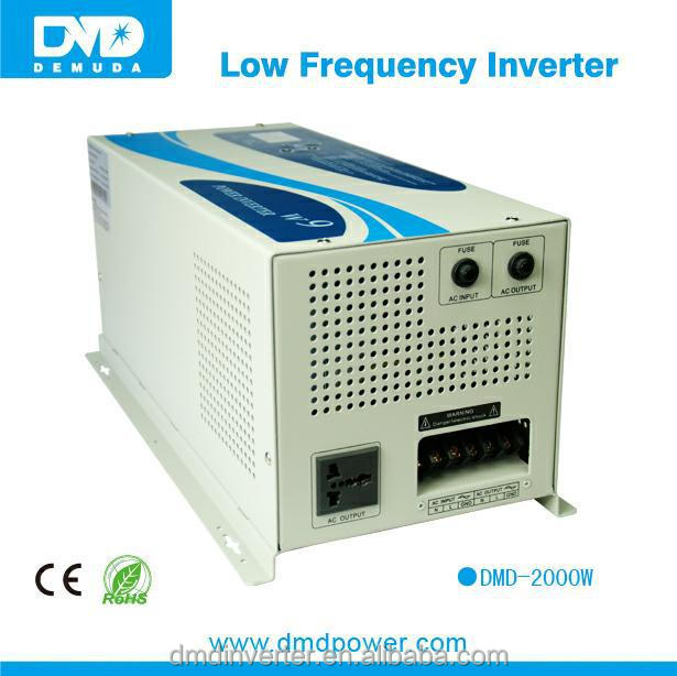 Power Jack 2000 Watt Peak 4000 Watt Low Frequency Pure Sine Wave Power Inverter 12 V Dc Input / 220 V Ac Output