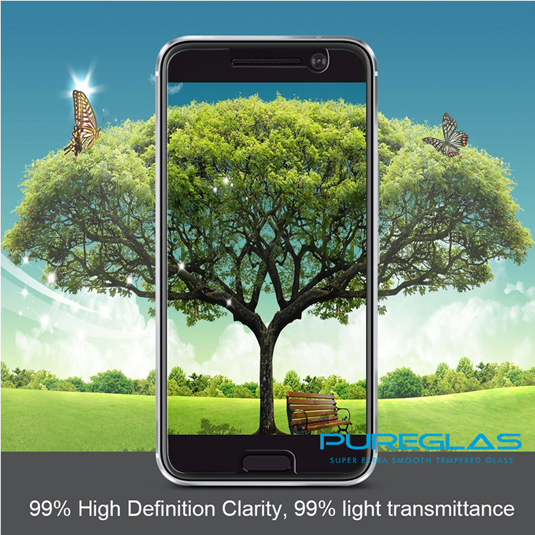 Top Quality Anti-scratch Universal Protective Film Can CUSTOM Made Tempered Glass Screen Protector For HTC ONE <strong>M10</strong>