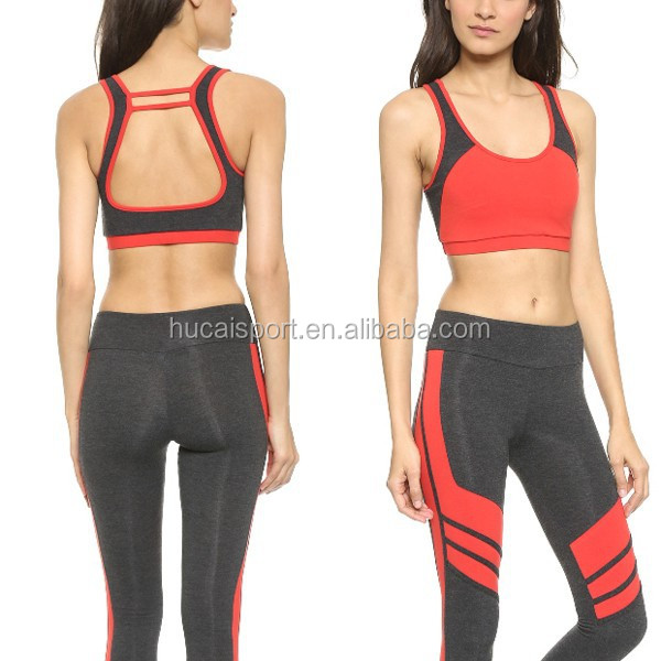 Fashion Fitness Clothing for Women Workout Sports bra Yoga wear Running Apparel for Girls