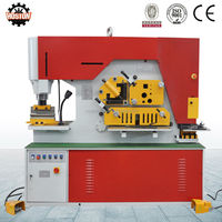 Hoston-functional Q35Y series hydraulic metal cutting ironworker machine