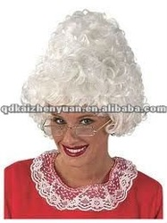2012 hot sale Christmas wigs, bright color top quality