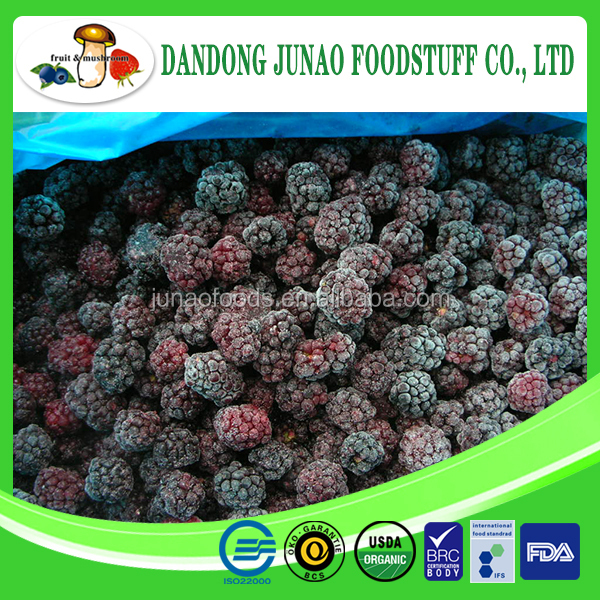 IQF frozen blackberry fruit fresh raw material
