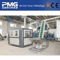 Full automatic 2 cavity plastic bottle blow molding machine