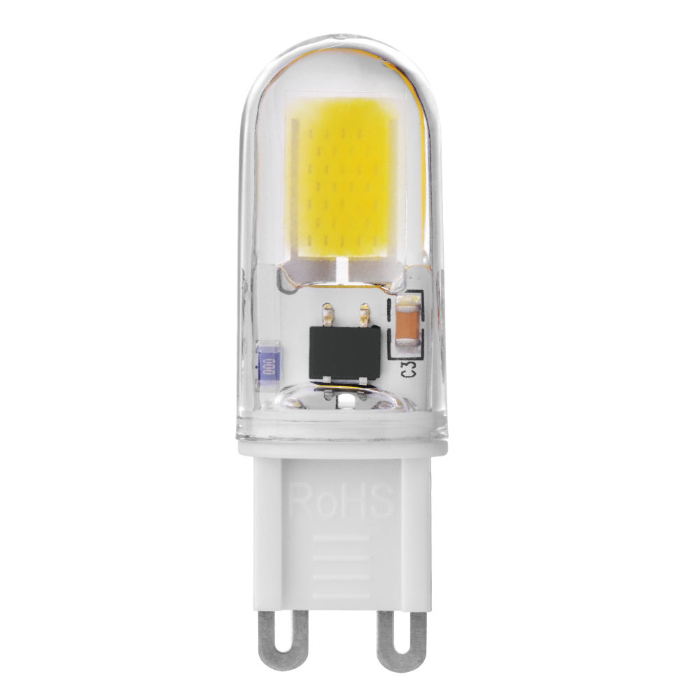 2019 new high quality energy saving approve G9 <strong>LED</strong> 120V/220V 2.5W 160lm Epistar cob <strong>led</strong> chip light <strong>led</strong> bulbs