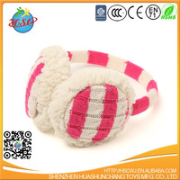 hot sale colourful knitting earmuffs
