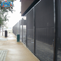 High Security Anti-Climb Welded Wire Mesh Panel Fencing
