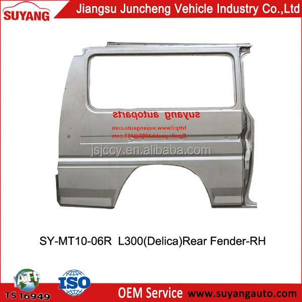 Car Fender Spare Parts for Mitsubishi Delica/L300 Van