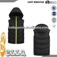 newest sports vest training sleeves track jacket body warmers