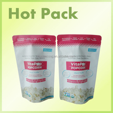 food pouch with ziplock whey protein zipper stand up bag