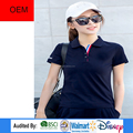 High quality OEM design woman tennis polo shirt cotton in alibaba website