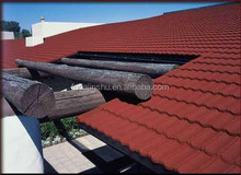 aluminium sheet/Stone Coated Roofing Sheet/light weight metal roofing materials/