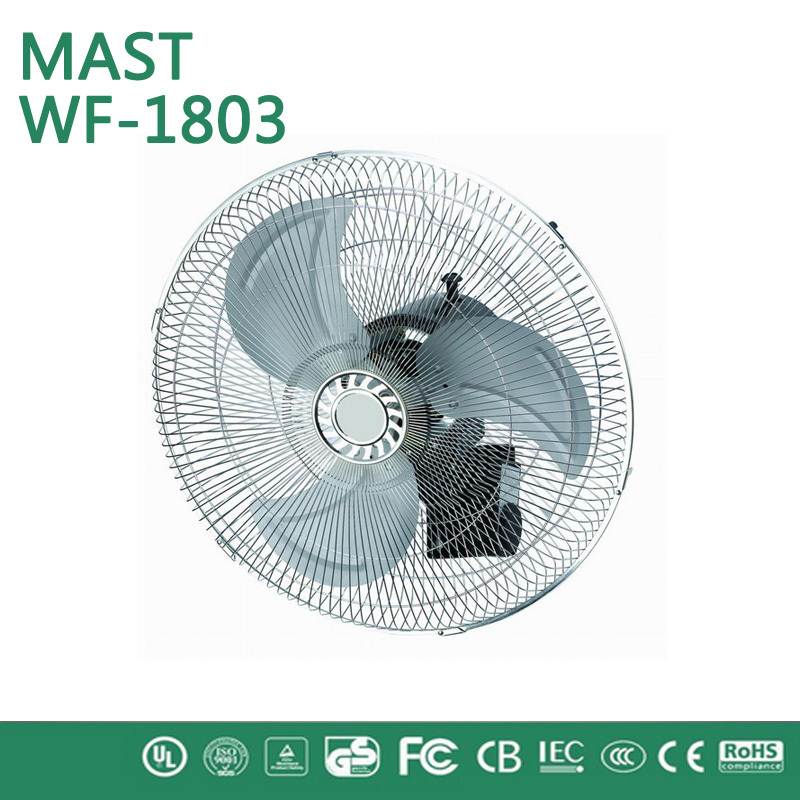 louvered industrial exhaust wall fan/pneumatic transfer system industry centrifugal wall fan/18' wall fan chrome paint