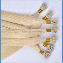 New premium 100% peruvian remy hair 0.8g 1g micro link hair extension grade aaa 22'' micro ring hair