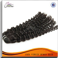 100% Raw Hair Remy Virgin Natural Curly Hair Extensions
