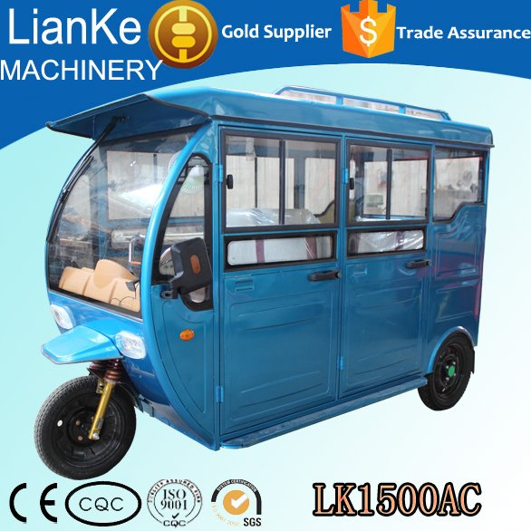 China Manufacturer passenger tricycle/electric adult 3 wheeler tuk tuk rickshaw/passenger electric tricycle with 4 seats