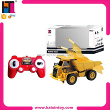 plastic 4 channel model car electric radio control engineering truck