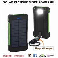 Solar Power Bank Portable Charger Dual