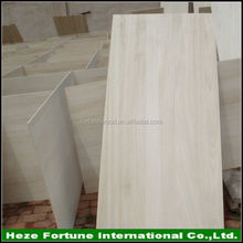Grade A Chinese bleached paulownia wood timber