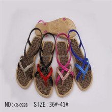 PCU PVC slipper sandal for woman popular new style
