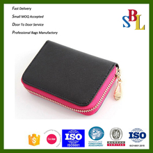 2015 factory direct small wallets, practical PU card holders, women card cases