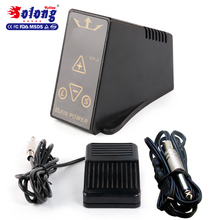 Solong tattoo black pro Led digital sceen tattoo power supply